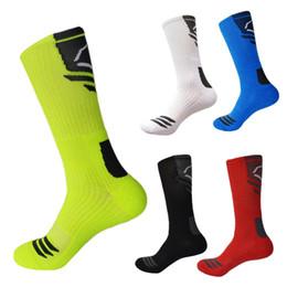 Elite Basketball Socks Men Thick Compression Sport Socks