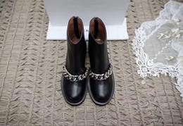 Wholesale High end luxury Ladies boots autumn and winter item Exquisite craft import cowskin vamp sheepskin inside genuine leather tread heel high cm