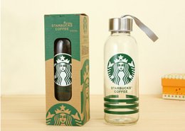 Starbucks Transparent Glass Cup 500 ml Classic Fashion Creative Coffee Cup Thicken High Borosilicate Glass Material