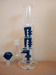 free shipping big size 12 inches glass bong cheap glass water pipe with 18mm glass bowl for smoking