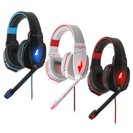 G4000 USB Stereo Surround Sound Superior Quality Noise-Cancelling Headset Game Headphone Led Light with Mic for PC Computer