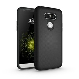 Wholesale Hot Good Quality Armour TPU PC Backer Cover Case For LG G5 Simple Protective Sleeve Phone Case