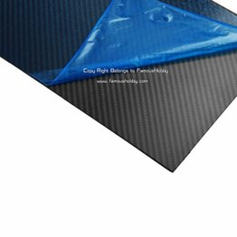 Wholesale FCRP034 X200X4 mm Full Pure Carbon Fiber Plate Panel Sheet Board Composite K Surface by ePacket HK Post