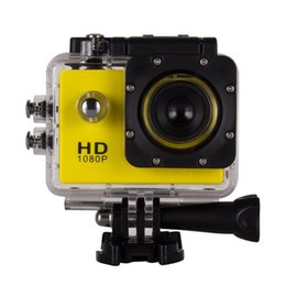 Wholesale SJ4000 degree wide angle lens inch LCD sports DV Full HD P m waterproof outdoor action video camera without adapter