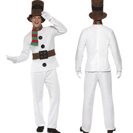 2017 Christmas new men's Christmas costume night bar party cosplay's role as stage play uniform