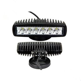 Wholesale Offroad AUTO Parts IP67 Waterproof inch Slim w Mini Driving LED Working Light Flood Light Spot Light For Trucks