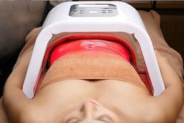 Wholesale 2016 portable pdt led light therapy facial rejuvenation blue light acne removal skin care PDT beauty machine