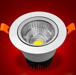 Factory Price Dimmable LED Recessed Downlight 10W 15W COB Chip LED Ceiling light Spot Light Lamp Cold White  Natural White  Warm white