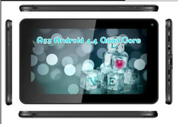 Wholesale BEST inch quad core andriod tablets pc A33 Dual camera M G with bluetooth WiFi Bluetooth Facebook Google mid