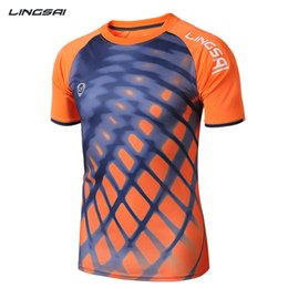 Wholesale D Leopard Print Men s T shirt New Grid Design Best Thailand Quality Brand Clothing Quick Dry Fit Sport Tshirt Running Man