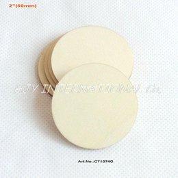 Wholesale quot Blank cutout circle round large wood disks crafts paint decor wooden disc DIY CT1074G