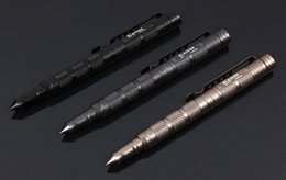 Wholesale Outdoor gadgets self defense tactical survival pen aviation aluminum alloy hiking and camping tool life saving pen LAIX B7