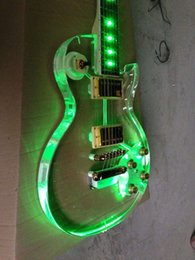 Wholesale New style Led light Lp electric guitar with more color can choose