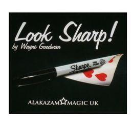 Look Sharp - trick, card magic,Fire magic Magic trick classic toys