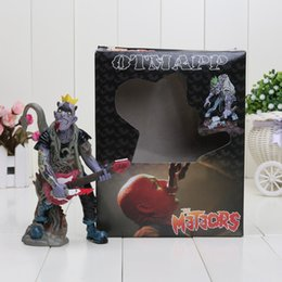 Wholesale 6 cm British psychobilly punk rock band The meteors OTMAPP zombie figures vinyl doll great for collection