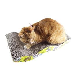 Mastone Scratcher with Catnip Cat Lounge Handmade Cats Kitten Scratcher Scratching Post Interactive Toy For Pet Cat Training