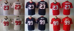 Wholesale 2016 Youth Jerseys Arian Foster J J Watt Kids Stitched Jerseys Free Drop Shipping