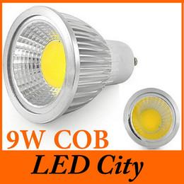 GU10 9W Cob Led Lamp Spotlight High CRI 110-240V 120 Beam Angle Warm Cool Pure White Led Recessed Light Bulb CE ROHS UL CSA SAA