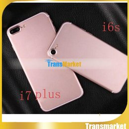 Wholesale 5 Inch I7 Plus Unlock Phone Mtk6580 Quad core Smart Phone GB ROm Hot sale Cheap Phone Show G G camera android sealed Box