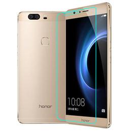 Nouveaux écrans de téléphone à vendre-Nouvelle Arrivée Cell Phone Screen Protector Pour Huawei Honneur 8 2.5D bord rond 0.26mm 9H Dureté en verre trempé avec emballage au détail
