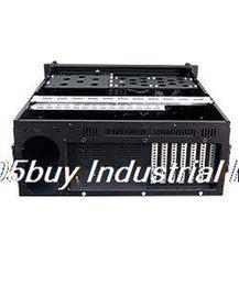 Wholesale 4u7120b industrial computer case server computer case aluminum curved panel long card massifs