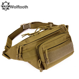 Wholesale Military MOLLE Belt Waist Bum Hip Belly Pack Bag Attachment System Hunting Multi functional Advance Assault P Attack Utility