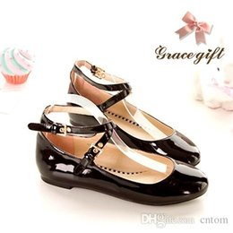 Flats shoes woman Patent Leather High Heel 1.5CM 31 32 33 46 45 44 43 42 40 41 EUR Size 30-47