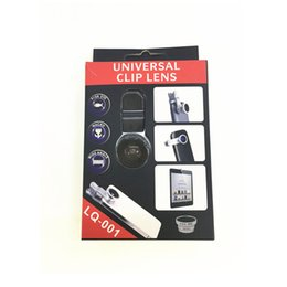 Wholesale LIEQI LQ Universal Clip Mobile Phone Lens in Photo Lens Wide Angle Lens Macro Lens Fish Eye Lens