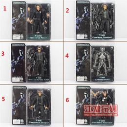 Wholesale 50pcs Hot Sale New Arrival NECA The Terminator Action Figure ENDOSKELETON Figure toy Styles jy294