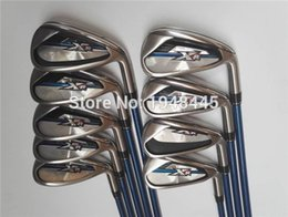 Wholesale 9PCS XR16 Iron Set Golf Iron Clubs PAS Right Handed Steel Shaft Regular or Stiff Flex With Head Cover