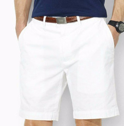 wholesale Drop Shipping 2016 high-quality cotton men's shorts men's fashion casual shorts male pony ball shorts 6 colors size M-XXXL