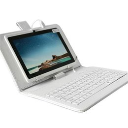 Wholesale In Stock inch keyboard case phablet Stand for Samsung Galaxy Tab Universal Micro USB Standard USB Keyboard Cover Best Quality