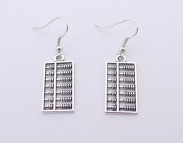 Wholesale Hot Sale Alloy Abacus Earrings E3446