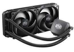 CoolerMaster two 12cm PWM fans CPU water cooler Nepton (BINGSHEN) 240M RL-N24M-24PK-R1 for multi-platform