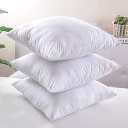 Wholesale Cotton Filling Pillow - White Cushion Pillow Filling High Quality Cushion Core Pillow Core Decorative Sofa Couch Car Chair Seat Pillows Cushions Inserts