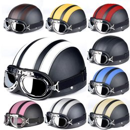 Wholesale Hot Sales ABS Motorcross Unisex Helmets For Harley Bike Bicycle Open Face DOT Certification