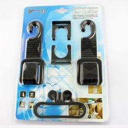 Wholesale New Convenient Car Holder Car Hanger New Practical Car Auto Shopping Purse Hook Hanger Holder Seat Bag