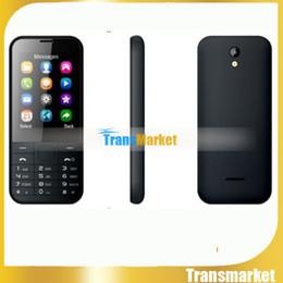 """Acheter en ligne Couleur dual quad-Elder téléphone mini 225 caméra MP3 double carte SIM grand clavier haut-parleur 1,8 """"écran couleur Bluetooth téléphone quad band pour étudiant, vieux, les enfants"""