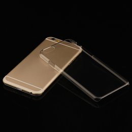2017 cas transparents pour iphone 4s Haute Qualité Transparent coques iphone PC étanches de cas de téléphone housses pour iphone 4s 5s 5c SE 6 6s, plus gros usine de vente chaude peu coûteux cas transparents pour iphone 4s