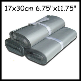 Wholesale cm Big poly mailers silver poly bags poly envelopes mailing bags express shipping envelopes Plastic
