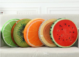 Wholesale 38cm Plush toy fruit cushion pillow watermelon cushion office sofa almofadas decorativas cojines birthday gift preferential benefit HY598