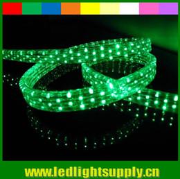 50m(164ft)DC 12V 5wire flat LED rope lights 11*26mm clear tube neon light spool 144LEDs M IP65 LED neon strip light Christmas lighting