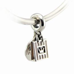 Promotion boutiques de charme Shopping Queen Pendant Nouvelle Automne Charm Fits Pandora Bracelet Authentique 925 Sterling Silver DIY faisant des bijoux