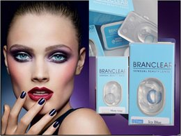 Wholesale 40 pieces pairs freeshipping colors Branclear Color contact lenses with cases inside Sensual beauty contact lenses