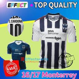 Wholesale 2016 Soccer Jersey Monterrey camisetas de futbol Monterrey sportwear Clothes W GARGANO R FUNES MORI D PABON Maillot footbal shirt