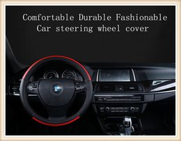 Comfortable and durable automobiles Steering wheel cover suitable for 38cm car styling Universal