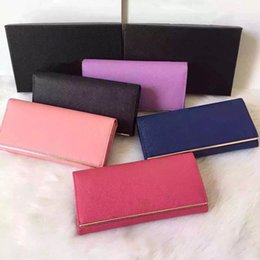 Wholesale very popular excellent quality advanced genuine leather brand designer wallet for women