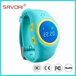 Wholesale Free shipment for round watch outlook for small babay MTK6261 ARM7 GPS SOS alarm W23