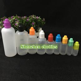Fast shipping Bottles High quality 60ml Plastic Dropper Bottle E Liquid Bottle Childproof Cap Long Needle Tip Dropper Bottle