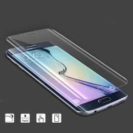 Tempered Glass Screen Protector Full Cover 3D Curved Side for Samsung Galaxy S6 Edge 0.2mm 9H Touch Screen Protector